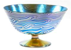 DURAND KING TUT FOOTED BOWL