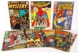 ASSORTED MARVEL / ATLAS COMIC BOOKS, LOT OF 11