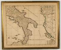 AFTER ALEXIS HUBERT JAILLOT FRENCH 16321712 MAP OF