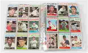 1964 TOPPS BASEBALL CARDS NEAR SET OF 548