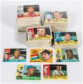1960 TOPPS BASEBALL CARDS NEAR SET OF 504