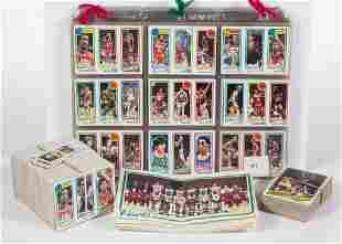 1980-81 TOPPS BASKETBALL CARDS NEAR SET