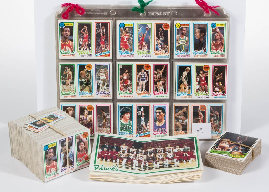 1980-81 TOPPS BASKETBALL CARDS NEAR SET