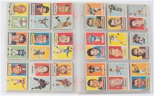 1957 TOPPS PRO FOOTBALL CARDS NEAR SET