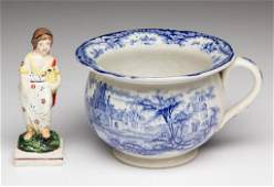 ENGLISH STAFFORDSHIRE POTTERY TRANSFERWARE CHILDS