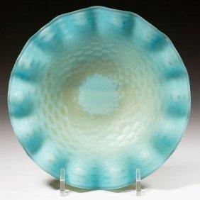 Thomas Webb Air-trap Mother-of-pearl Dish