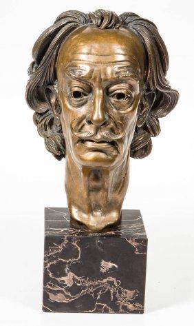 Arno Breker (german, 1900-1991) Bronze Bust Of Salvador