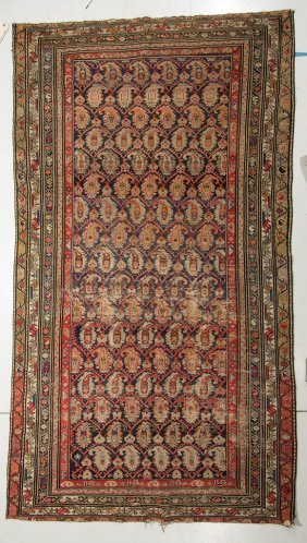 Antique Persian Room-size Carpet