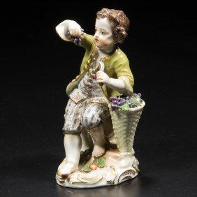 German Meissen Porcelain Figure