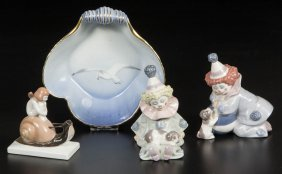 European Lladro, Rosenthal, And Copenhagen Porcelain