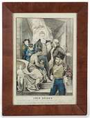 CURRIER  IVES CIVIL WAR HISTORICAL PRINT