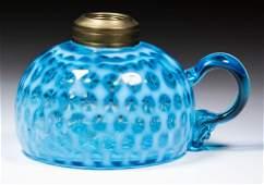 HOBBS NO 326 WINDOWS  COIN DOT KEROSENE FINGER LAMP