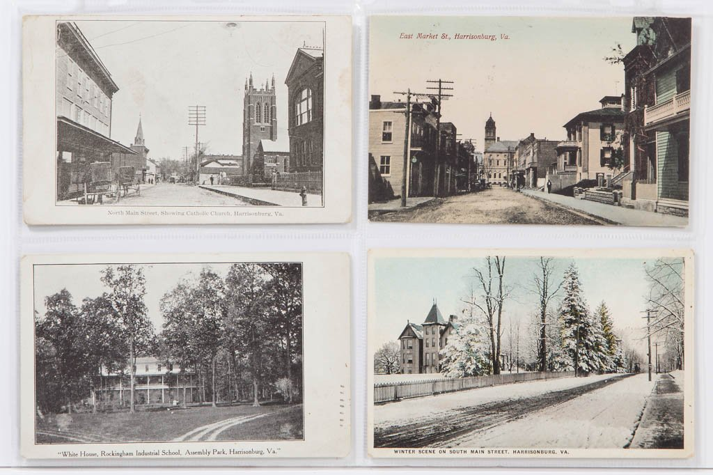 SHENANDOAH VALLEY OF VIRGINA POST CARDS, LOT OF 83 - 3