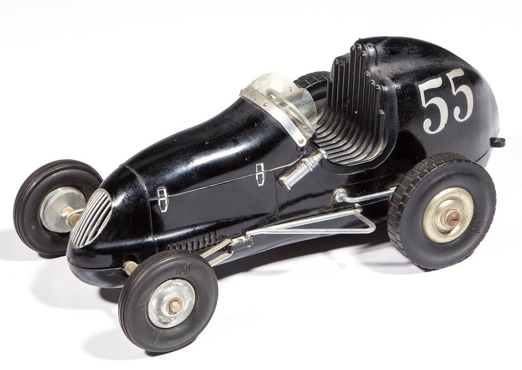 OHLSSON & RICE ALUMINUM TOY RACE CAR