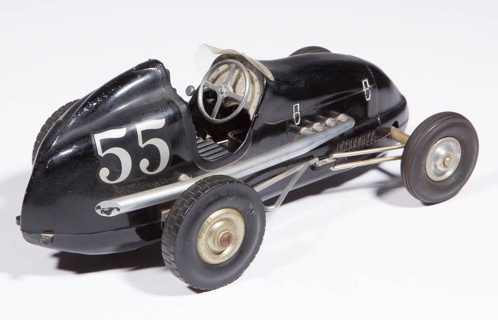 OHLSSON & RICE ALUMINUM TOY RACE CAR - 2
