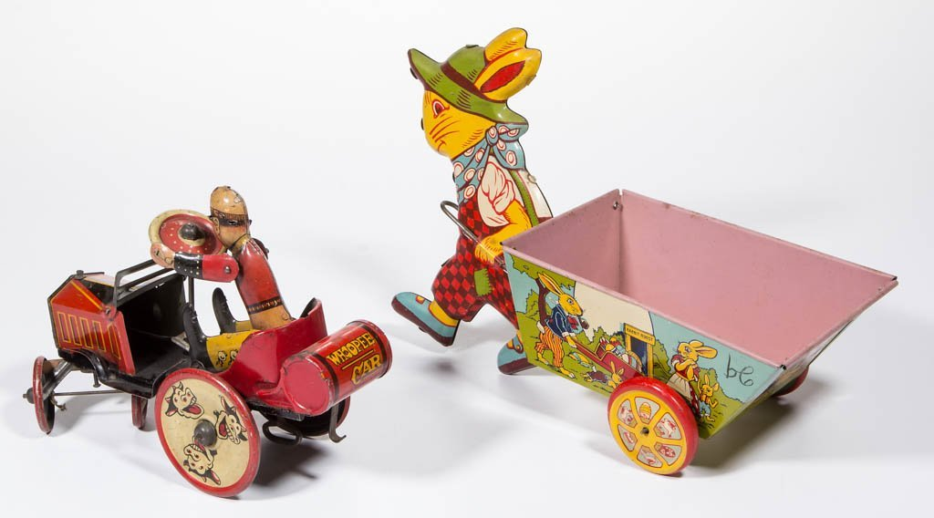 AMERICAN TIN LITHOGRAPH TOYS, LOT OF TWO - 2