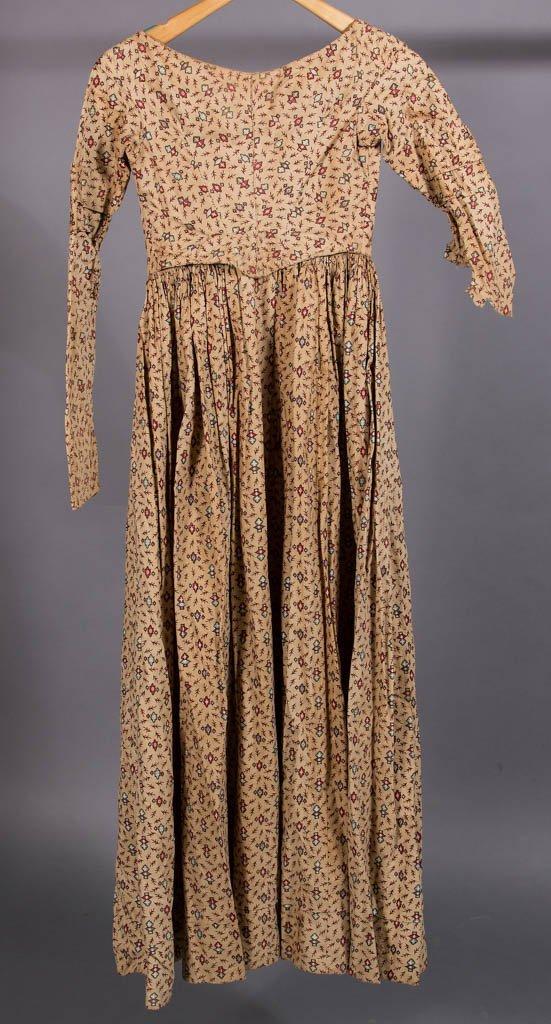 VICTORIAN MULTI-PRINT COTTON DRESS