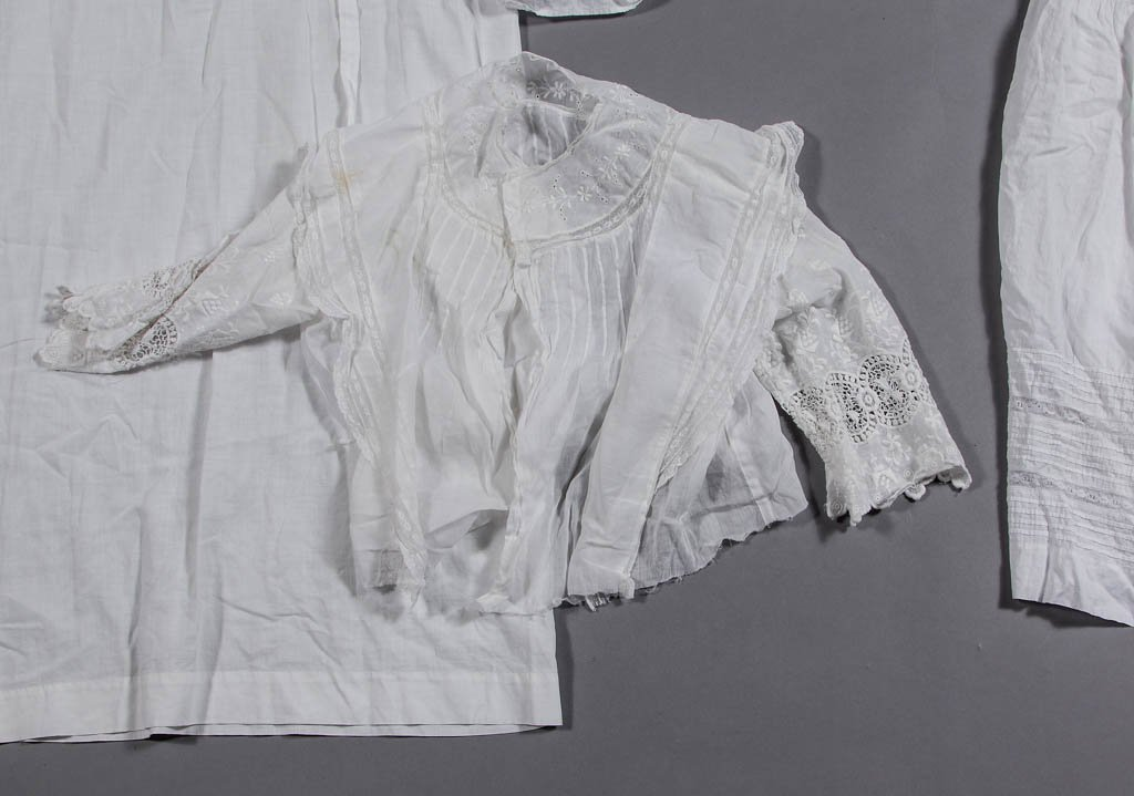 ASSORTED VICTORIAN LADY'S CLOTHING ARTICLES, LOT OF - 3