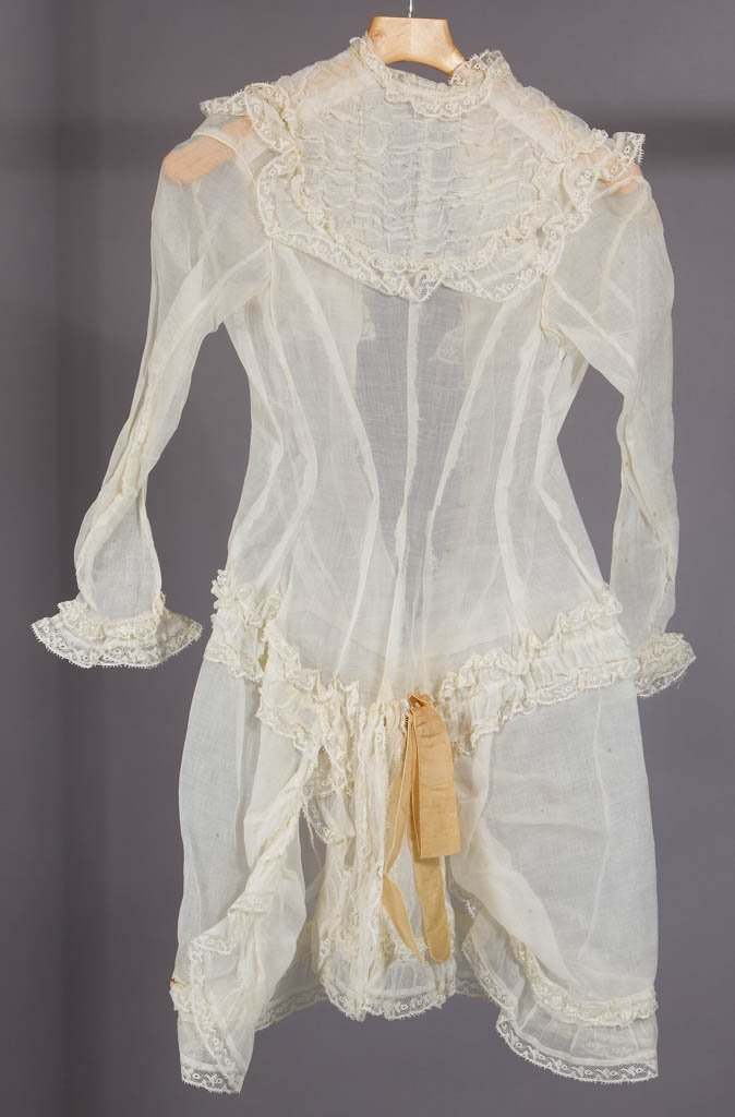 VICTORIAN LADY'S SUMMER DRESS - 4