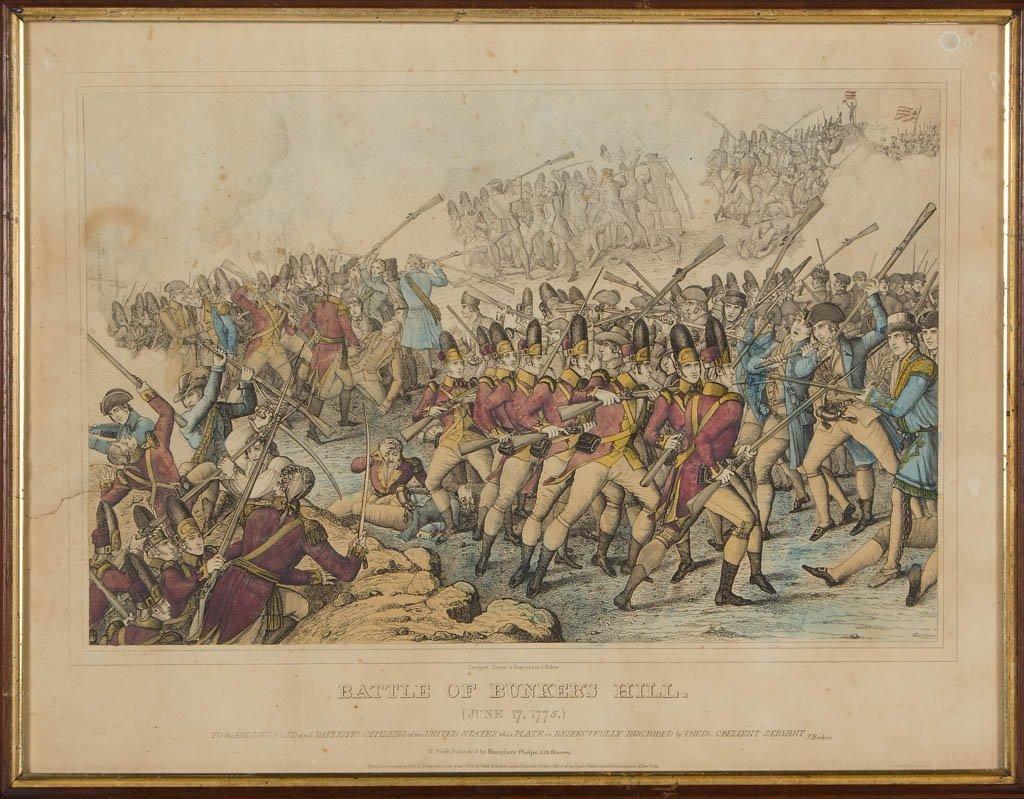 AMERICAN REVOLUTIONARY WAR HISTORICAL PRINTS - 2