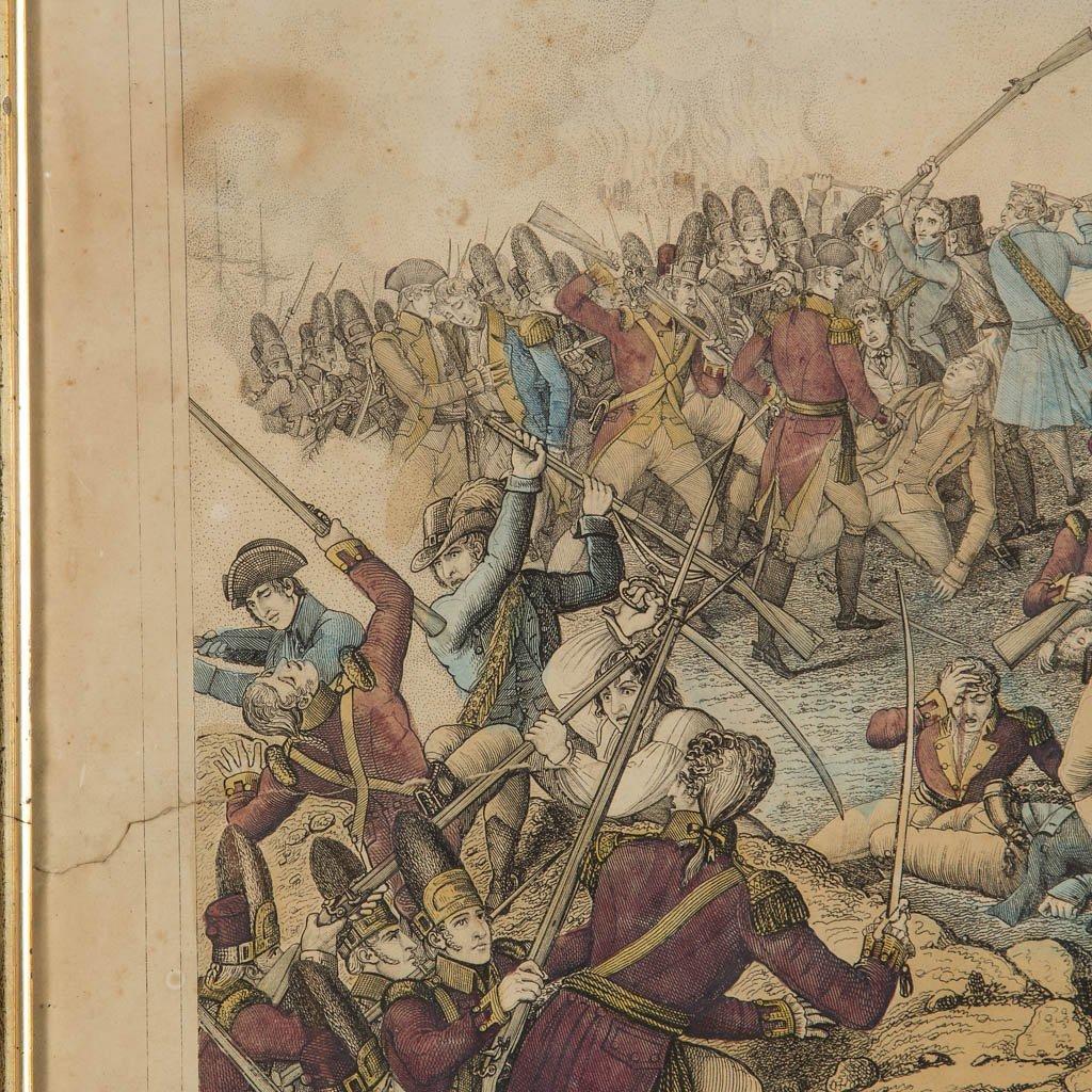 AMERICAN REVOLUTIONARY WAR HISTORICAL PRINTS - 3