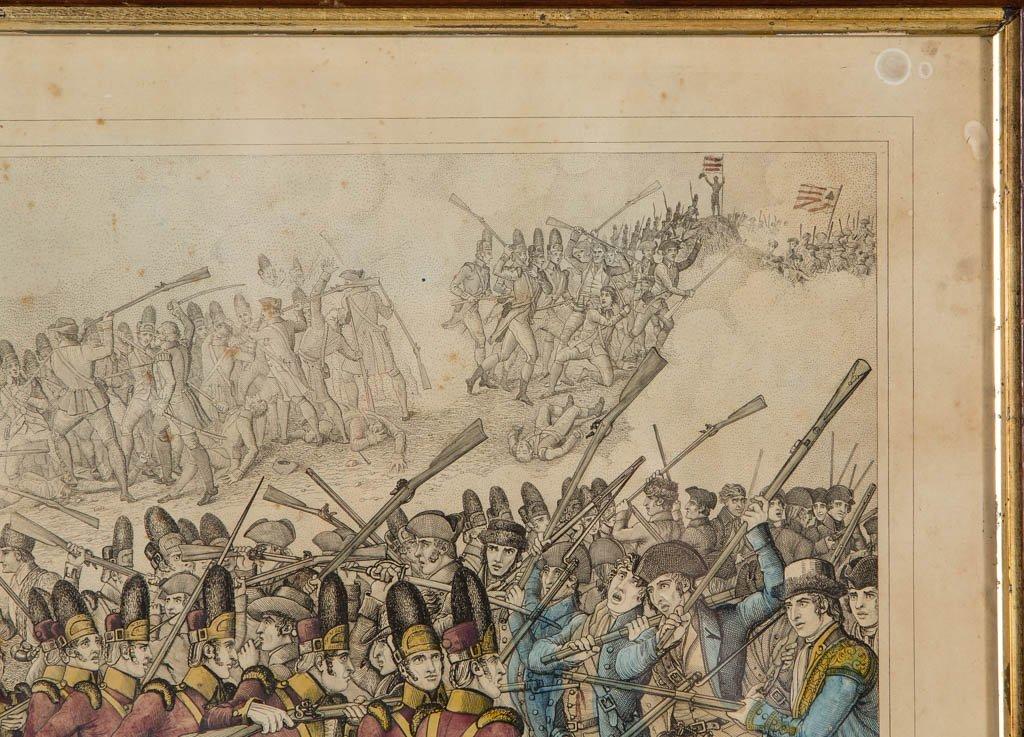 AMERICAN REVOLUTIONARY WAR HISTORICAL PRINTS - 4