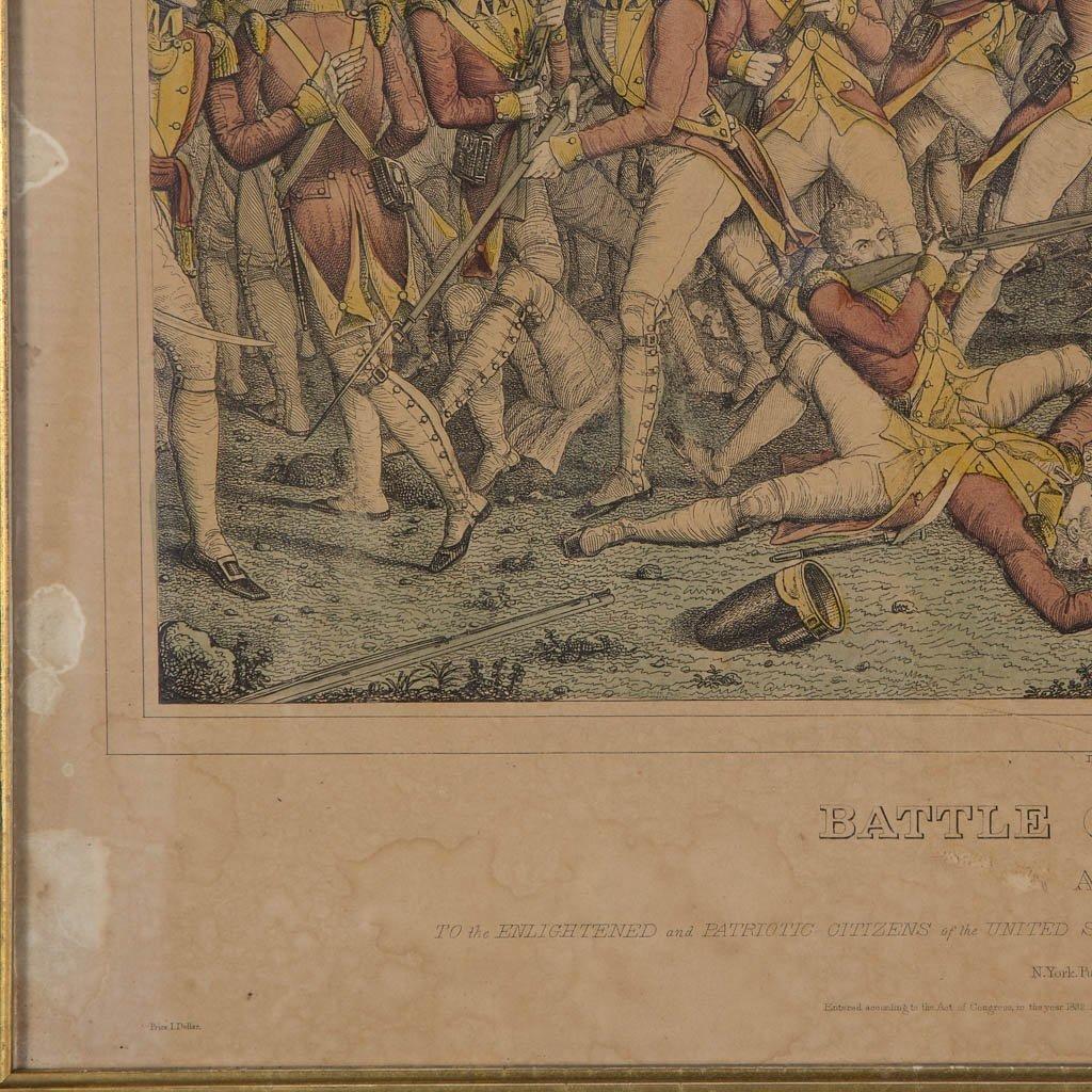 AMERICAN REVOLUTIONARY WAR HISTORICAL PRINTS - 6
