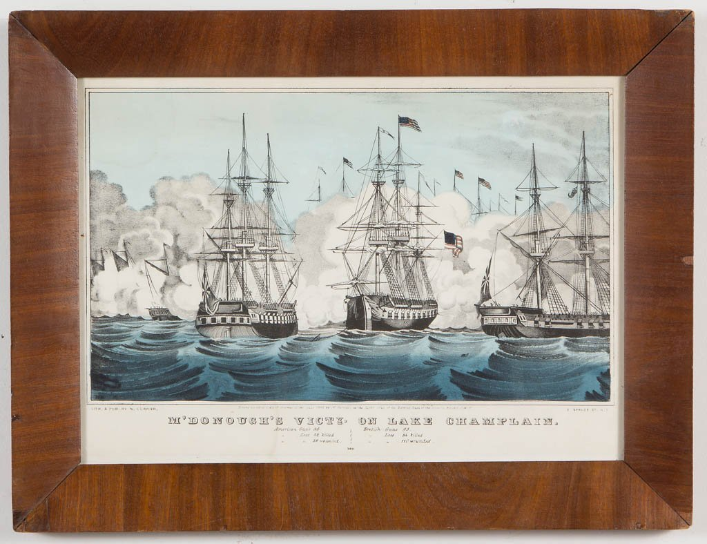 AMERICAN HISTORICAL PRINTS, LOT OF TWO - 2