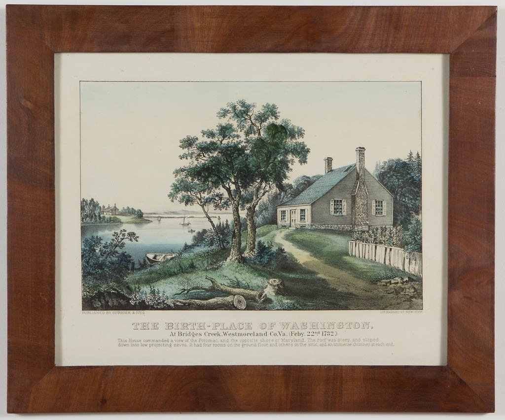 AMERICAN HISTORICAL PRINTS, LOT OF TWO - 3