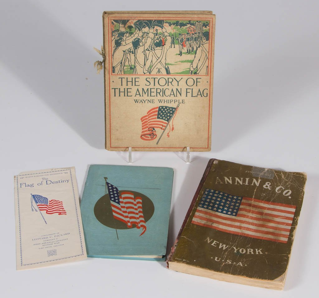 ASSORTED AMERICAN FLAG THEME ARTICLES, LOT OF 11 - 3