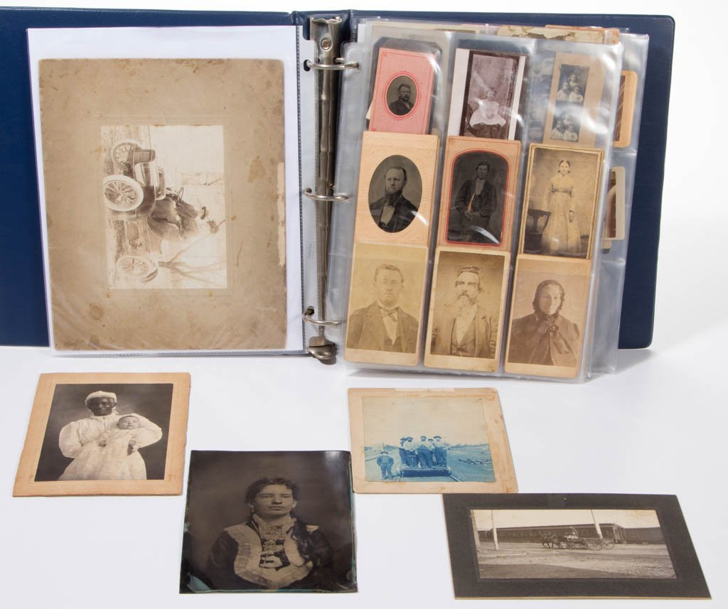 ASSORTED VINTAGE PHOTOGRAPHS, LOT OF 125 +/-