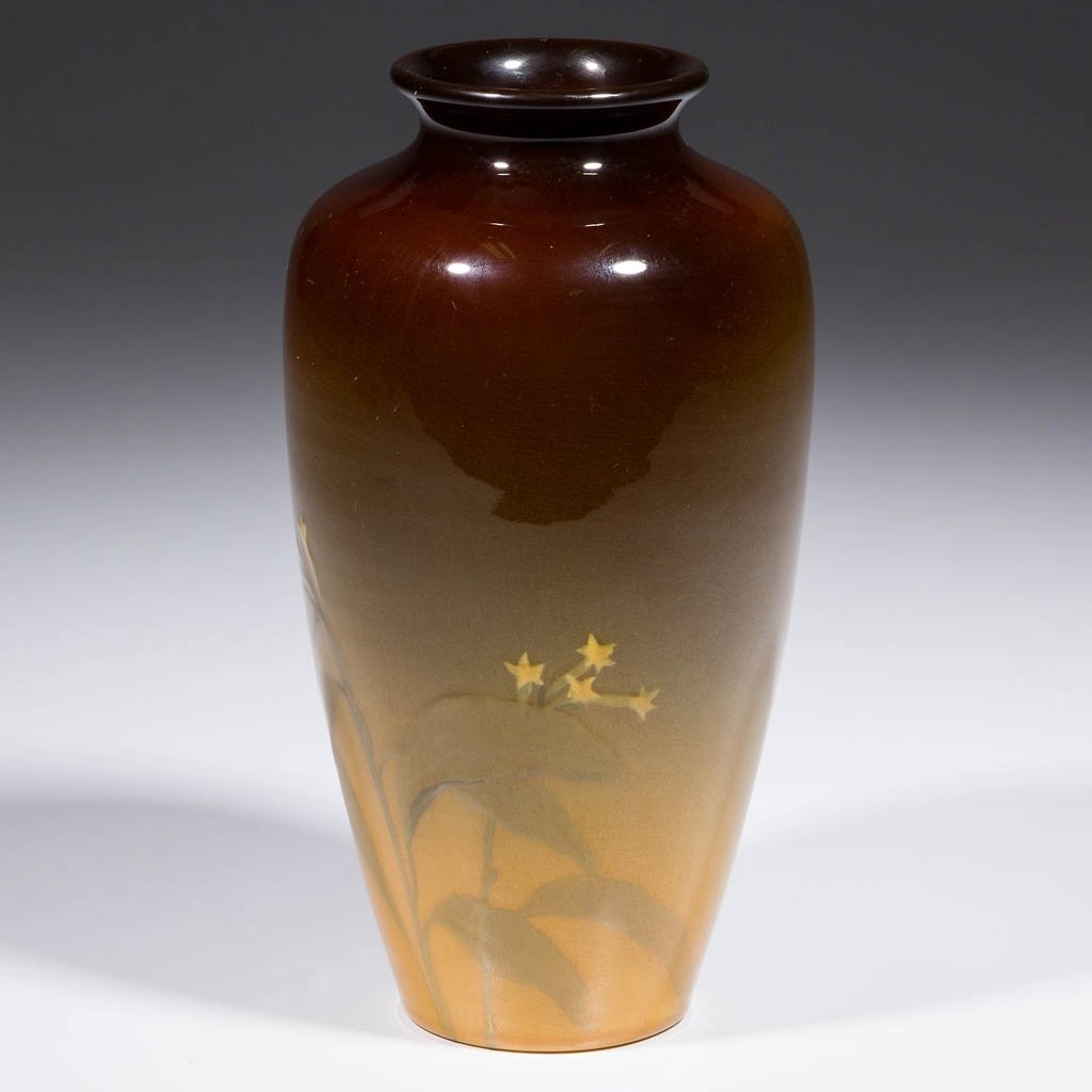 ROOKWOOD ART POTTERY VASE - 2