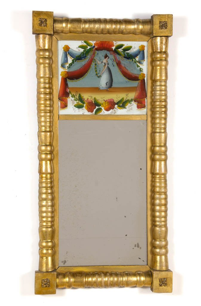 AMERICAN LATE FEDERAL WALL MIRROR