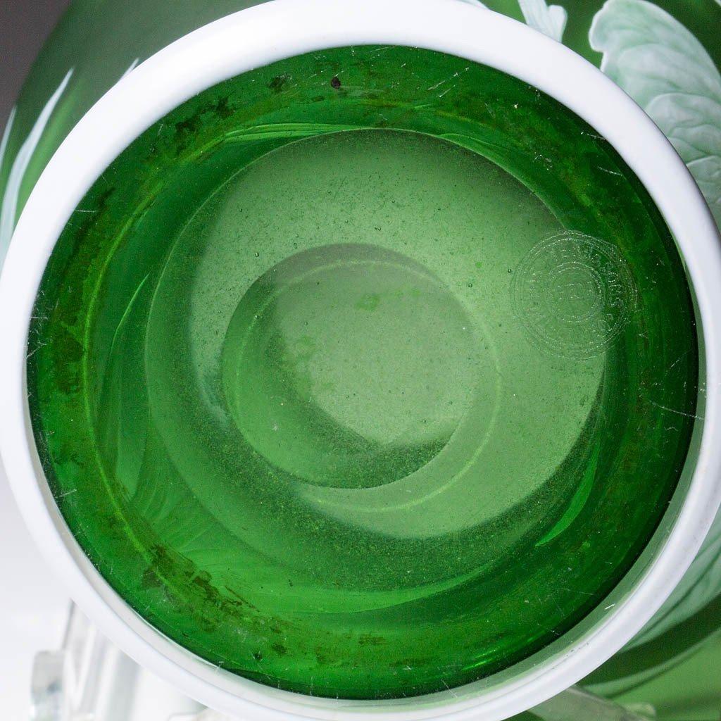 THOMAS WEBB CAMEO GLASS VASE - 5