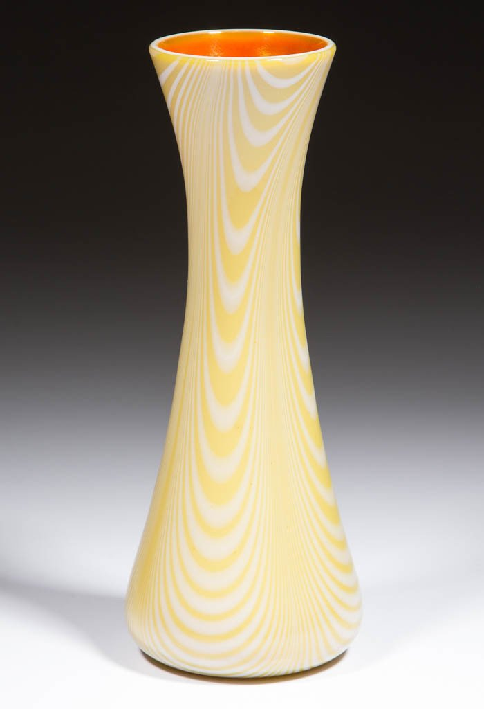 IMPERIAL DECORATED FREE HAND VASE