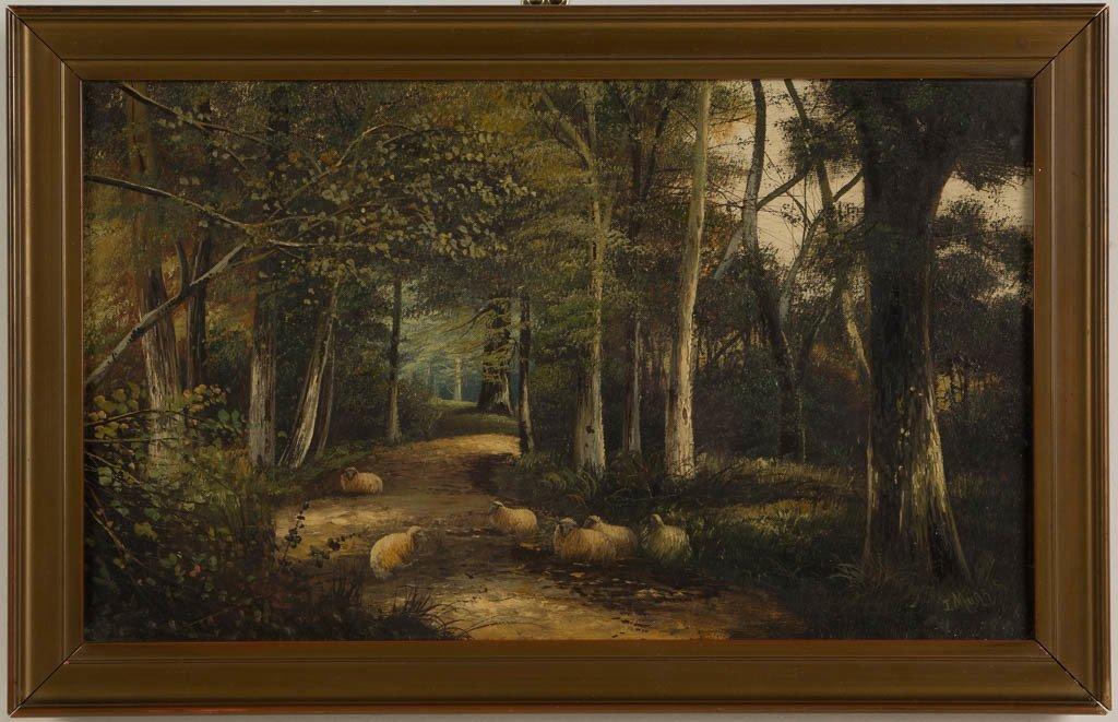 JOHN W. MORRIS (SCOTTISH, ACTIVE 1865-1924) PASTORAL