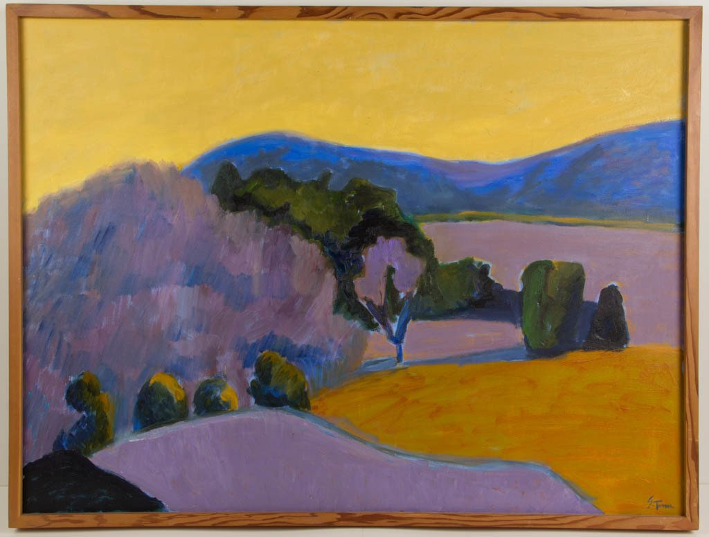 SALLY TURNER (AMERICAN, 20TH CENTURY) LANDSCAPE