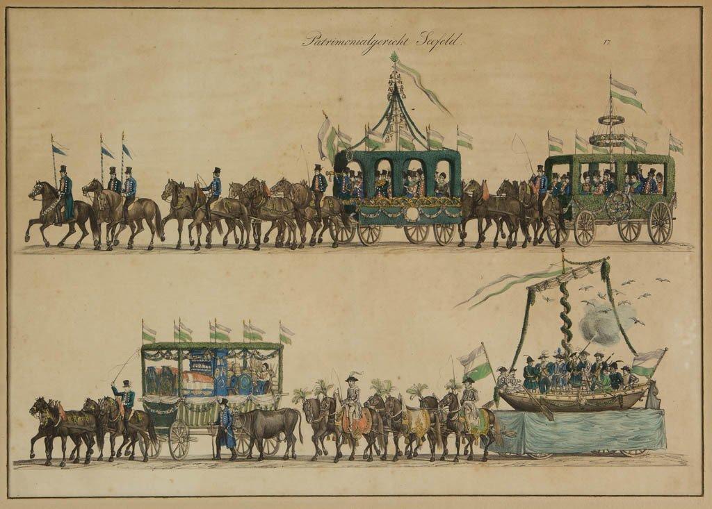 GUSTAV WILHELM KRAUS (GERMAN, 1804-1852) OCTOBERFEST - 2