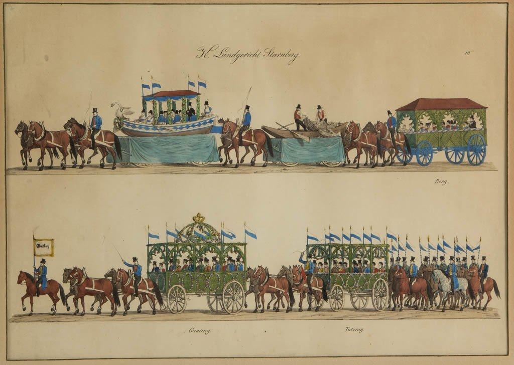 GUSTAV WILHELM KRAUS (GERMAN, 1804-1852) OCTOBERFEST - 4