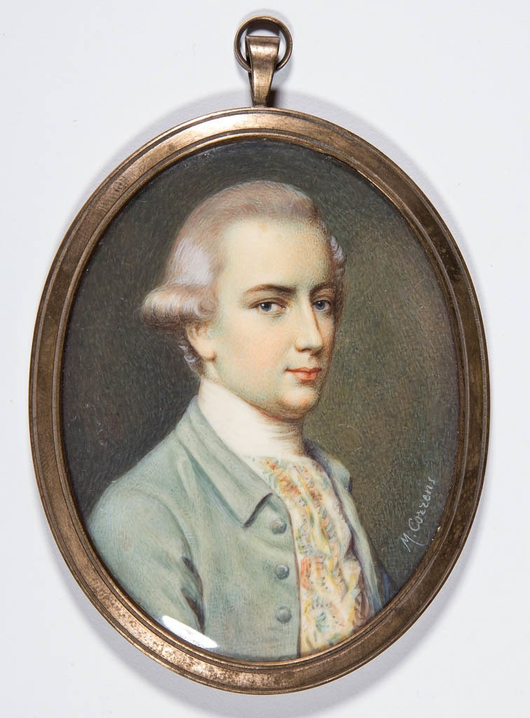 BRITISH OR CONTINENTAL SCHOOL (19TH CENTURY) MINIATURE