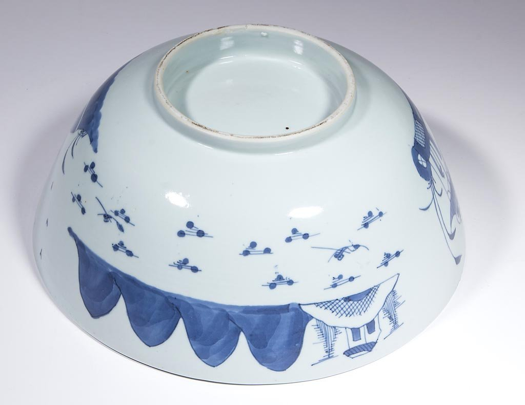 CHINESE EXPORT BLUE AND WHITE PORCELAIN TABLE ARTICLES, - 5