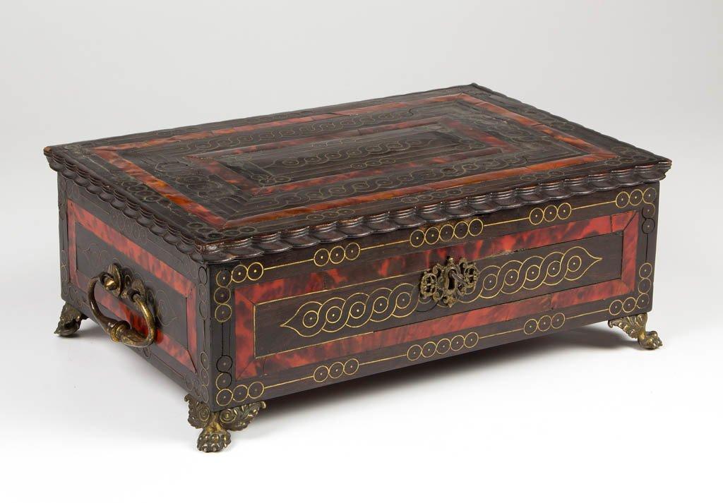 CONTINENTAL BOULLE DRESSER BOX