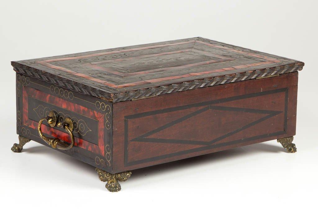 CONTINENTAL BOULLE DRESSER BOX - 4