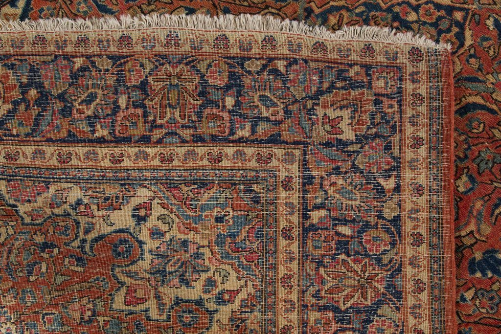 SEMI-ANTIQUE ORIENTAL SCATTER RUG - 3