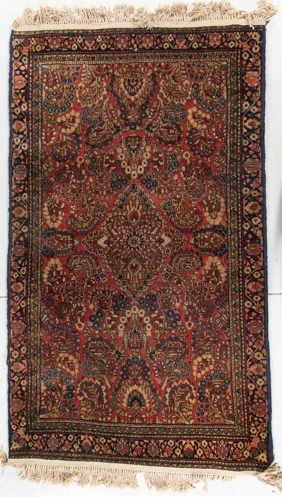 SEMI-ANTIQUE ORIENTAL SCATTER RUG