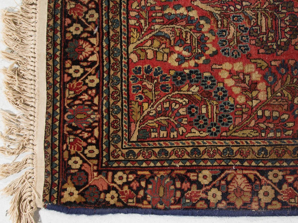SEMI-ANTIQUE ORIENTAL SCATTER RUG - 2