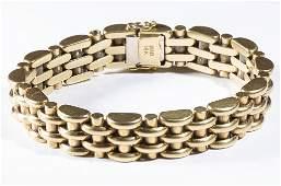 VINTAGE LADY'S / GENTLEMAN'S 18K GOLD BRACELET