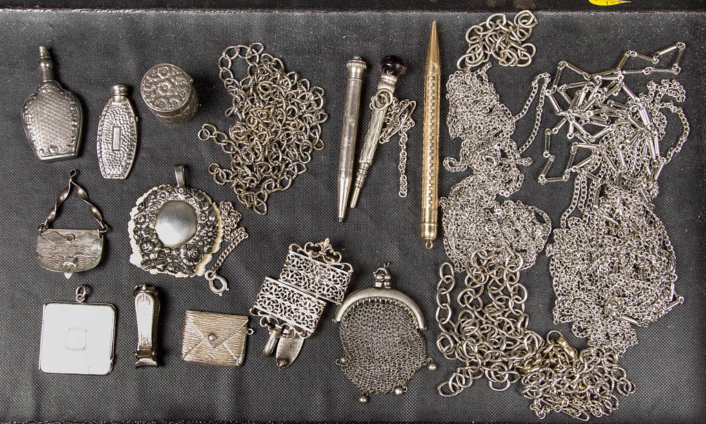 SILVER AND OTHER SEWING AND RELATED ARTICLES