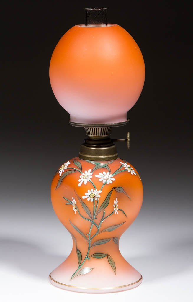 CASED GLASS WITH SATIN FINISH MINIATURE LAMP