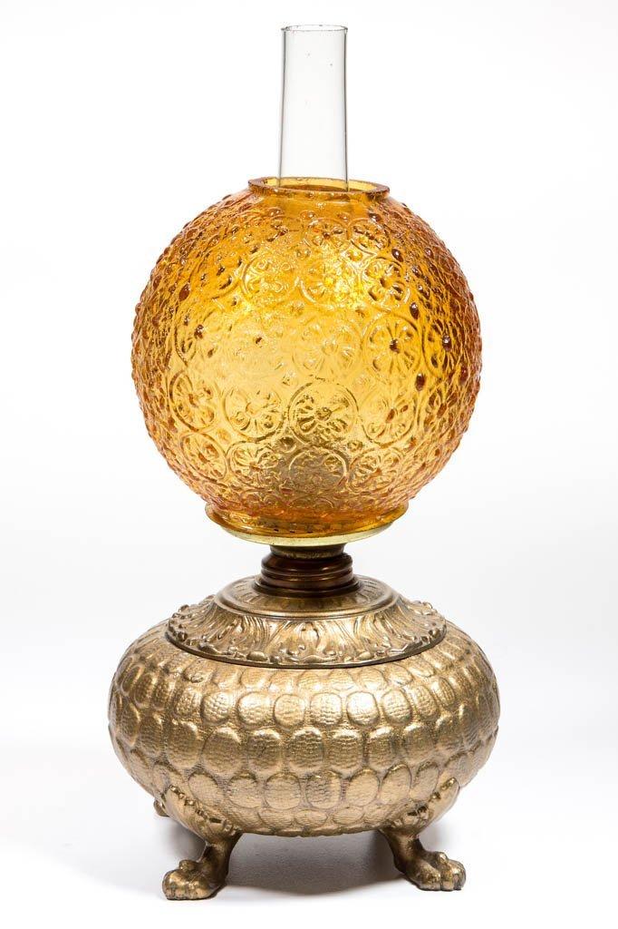 EMBOSSED CAST METAL MINIATURE LAMP